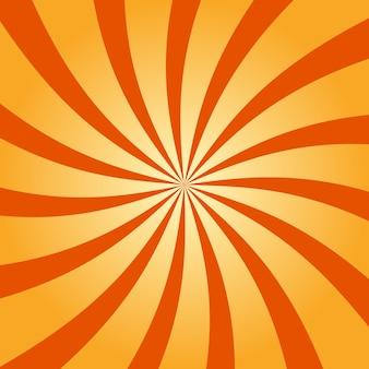 抽象的なレトロ旋回放射状の背景