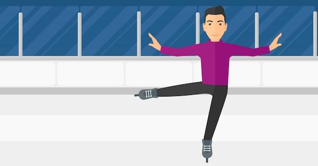 男性フィギュアスケーター