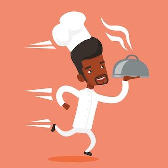 Работает шеф-повар.