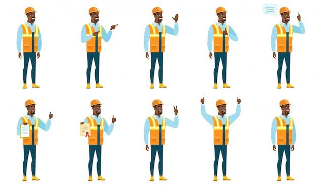 Набор символов строителя.