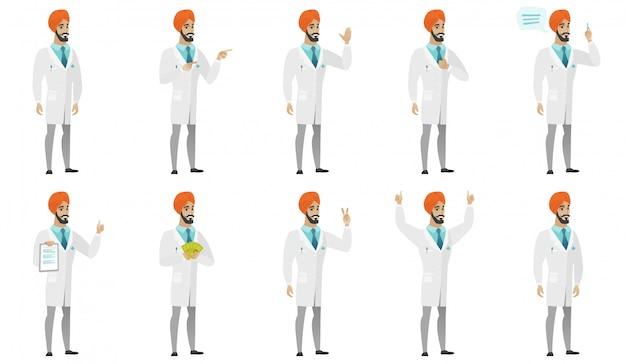 イスラム教徒の医者セット