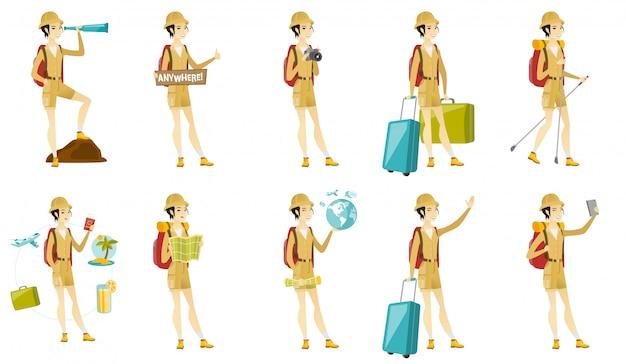 Установить с путешественниками символов.