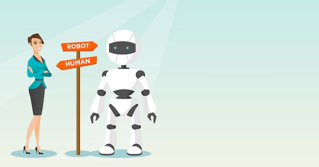 人工知能と人間の間の選択