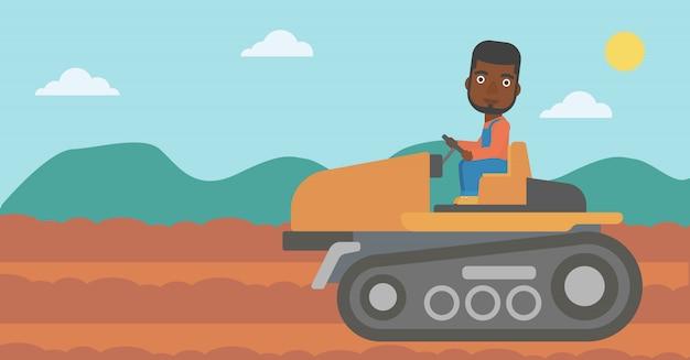 農家用トラクター