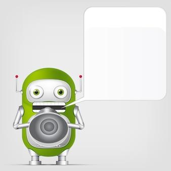 かわいいロボット