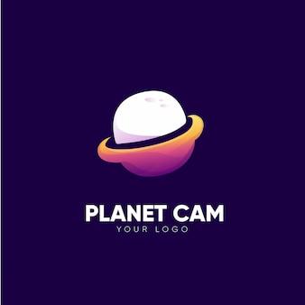 惑星のロゴデザイン