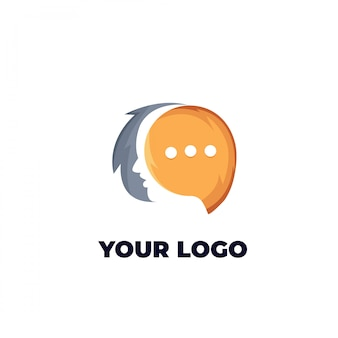 Логотип чата