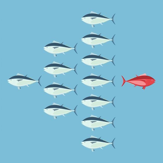 異なること、勇気の概念、ビジネスの信念。