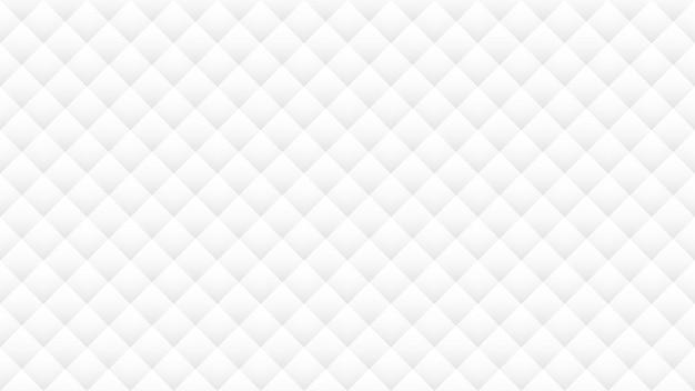 白とグレーの幾何学的形状のシームレスパターン背景