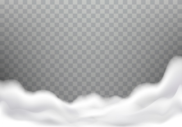 Пена для ванны реалистичная текстура, рамка