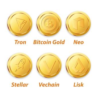 Цифровое векторное золото