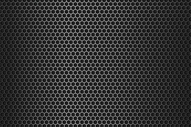 金属の背景スチールブラックデザイン