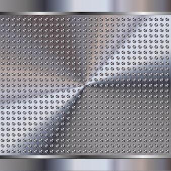 Металл фон сталь
