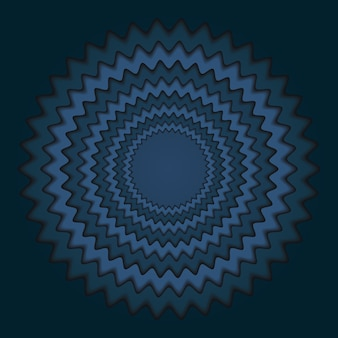 Волна абстрактный синий фон