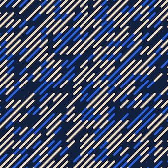 Вектор бесшовные диагональные линии шаблон