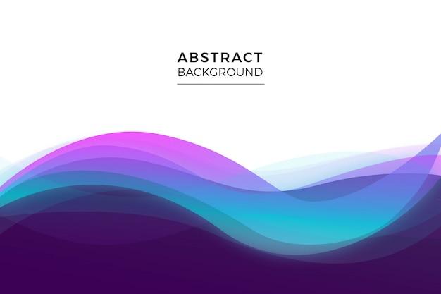 波状の抽象的な背景