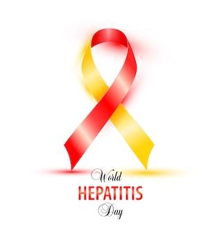 Всемирный дизайн баннера дневного гепатита