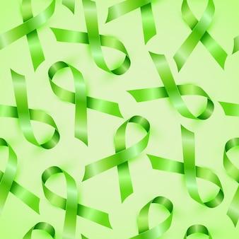 リンパ腫癌リボン単離シームレスパターン。