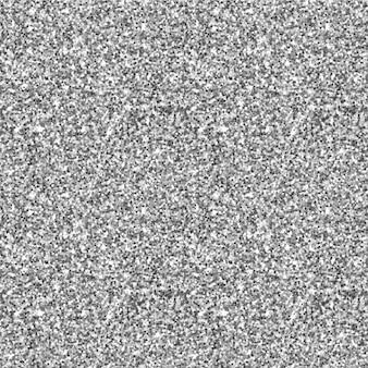 シルバーラメのシームレスなパターン