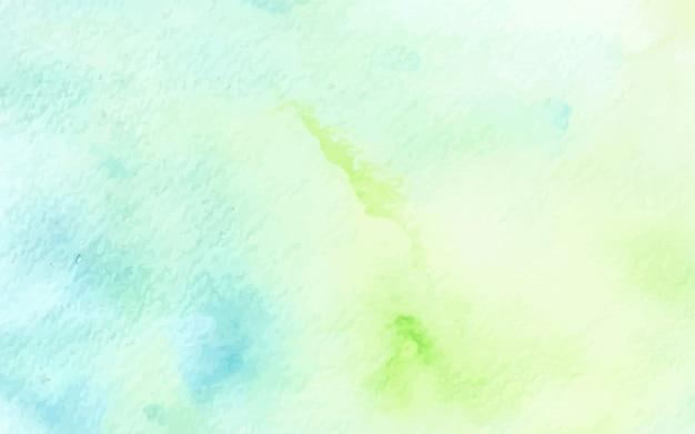 抽象的なパステル水彩緑青テクスチャ背景