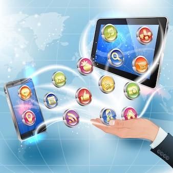 モバイルプラットフォーム向けのアプリケーション