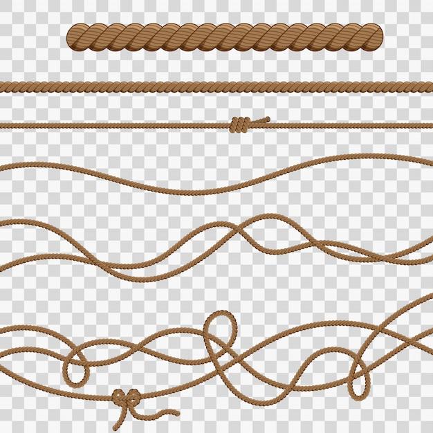 ロープと結び目