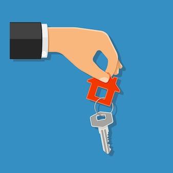 不動産コンセプトの購入またはレンタル