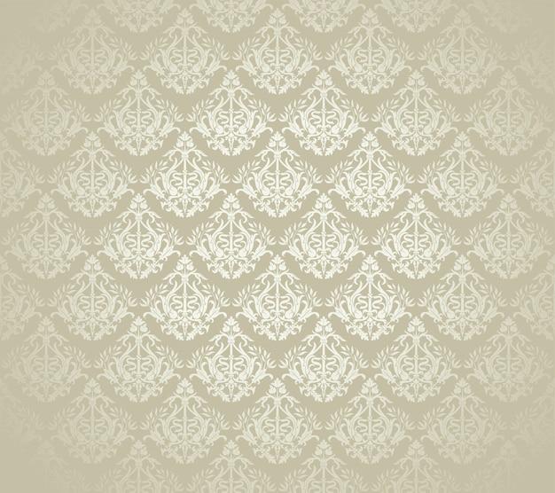 黄金の贅沢なシームレスパターン