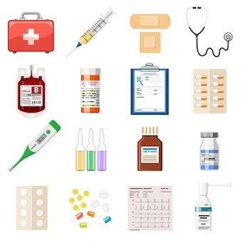 Установить медицинские иконки