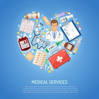 医学とヘルスケアの概念