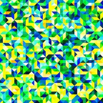 抽象的なモザイクパターン