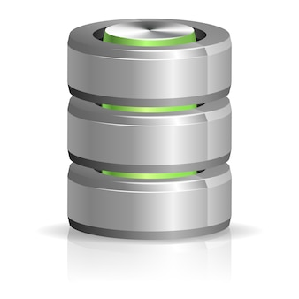 Значок базы данных и жесткого диска