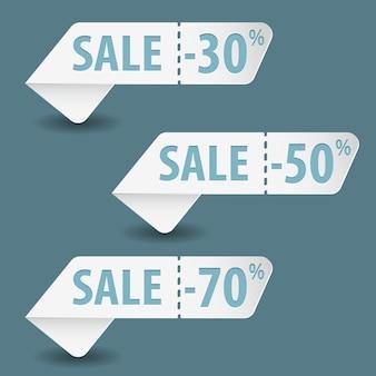 Соберите знаки распродажи