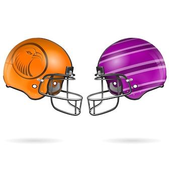 Шлемы американского футбола