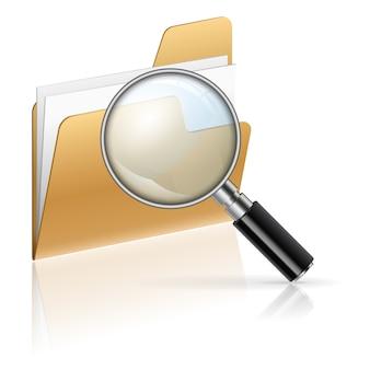 フォルダー内のファイルを検索する