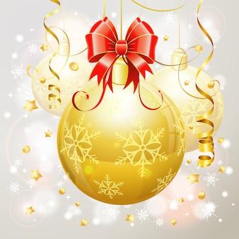 クリスマスボール、つまらないもの、クリスマス電球またはクリスマスの泡