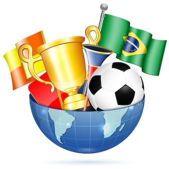 Футбольные предметы
