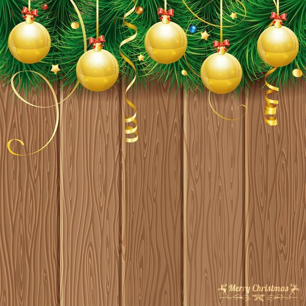 クリスマステーマの背景