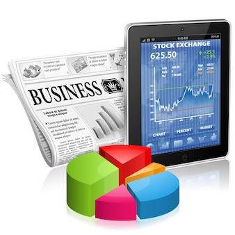 ビジネスとニュースのコンセプト