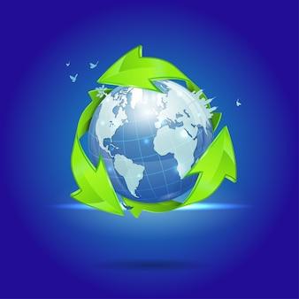 環境とエコロジーのコンセプト