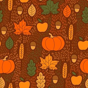 Осенний узор