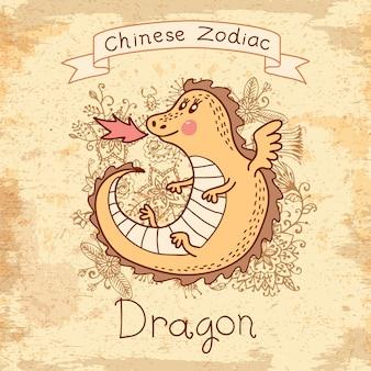中国の黄道帯-ドラゴン
