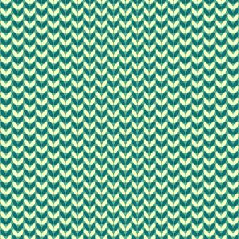 イラストのシームレスなニットパターン。