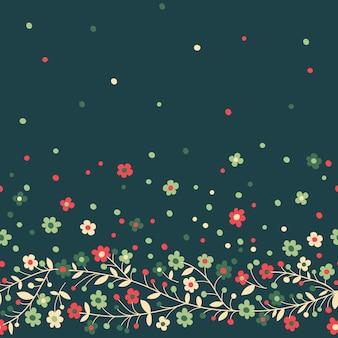 Цветущие ветви фон