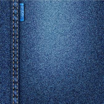 デニムのベクトルの背景