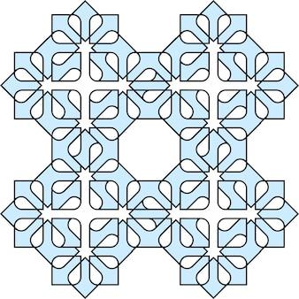 アラビアの装飾的なパターン