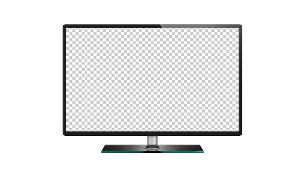 Телевизор с плоским экраном жк, плазма, светодиодный телевизор монитор изолированные