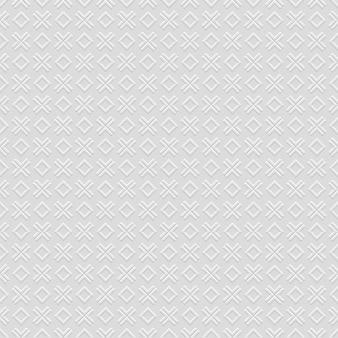 Клетчатый серый бесшовный узор с крестом и ромбом