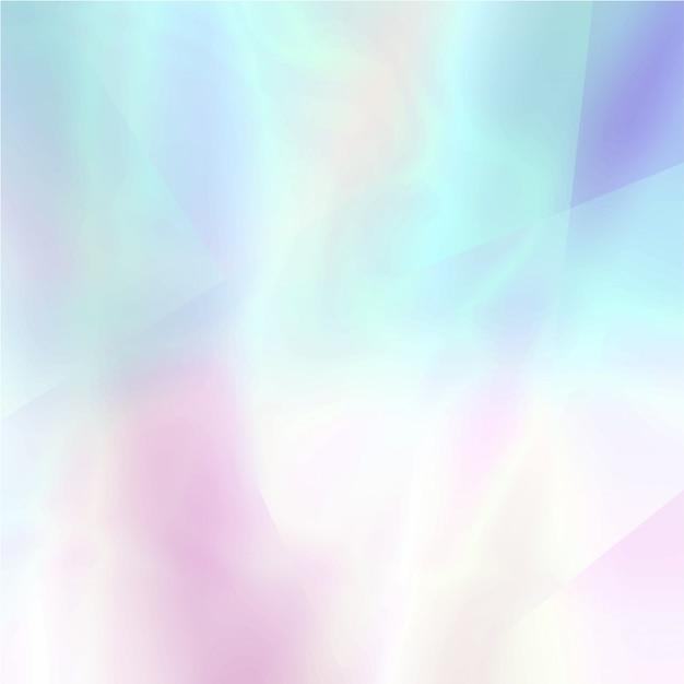 明るい色で抽象的なぼやけたホログラフィック背景