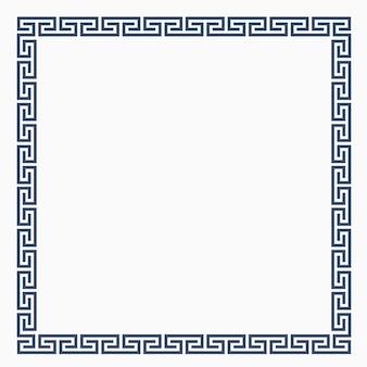 設計のためのギリシャの装飾的なフレーム